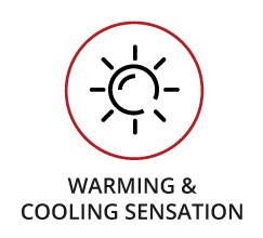 Warming & Cooling Sensation